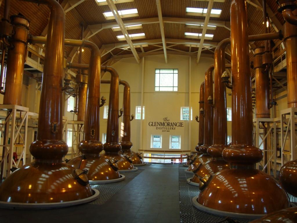 Alambics de la Distillerie Glenmorangie