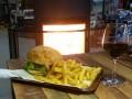 Burger feu